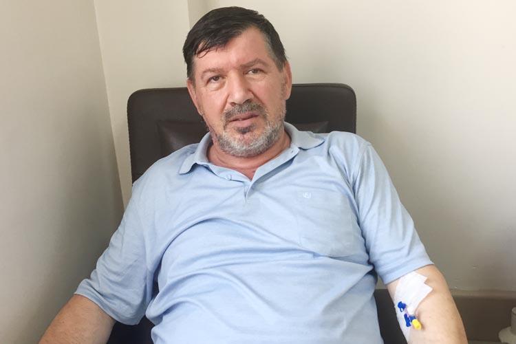 Adem Sefer'e Beykoz Devlet Hastanesinde üç saatlik operasyon