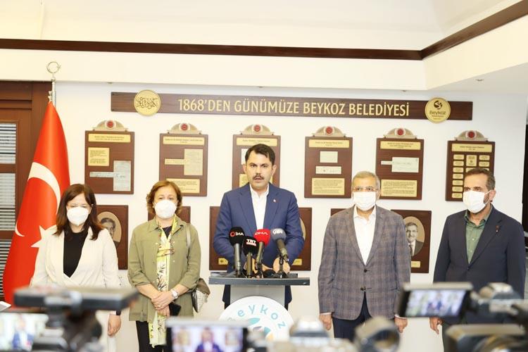Murat Kurum, Beykoz'da tüm planlar 2022'de bitiyor