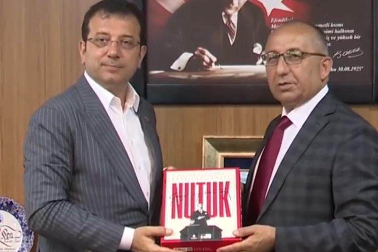 İBB Başkanı Beykoz'da KAS-DER Genel Merkezini ziyaret etti