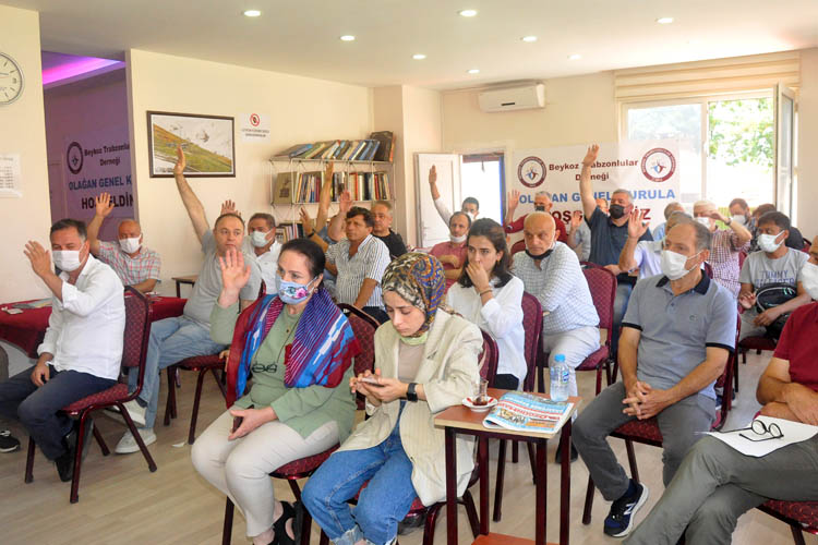 Beykoz Trabzonlular Derneği yeni başkanı seçti