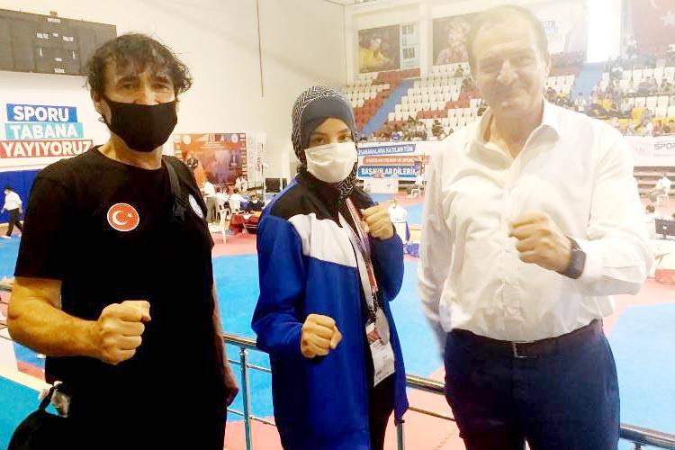 Beykoz Belediye sporcusu Türkiye ikincisi oldu