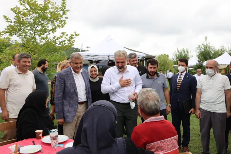 İl Başkanı Kabaktepe'den Beykoz teşkilatına sürpriz