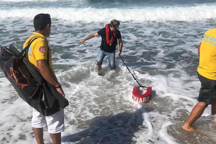 Beykoz Riva'da kurtarma operasyonu
