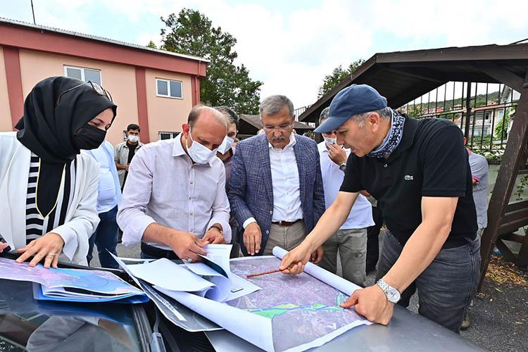 İstanbul Valisi Beykoz eğitim alanları için geldi