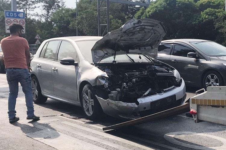 Beykoz'daki trafik kazasında bir kişi yaralandı