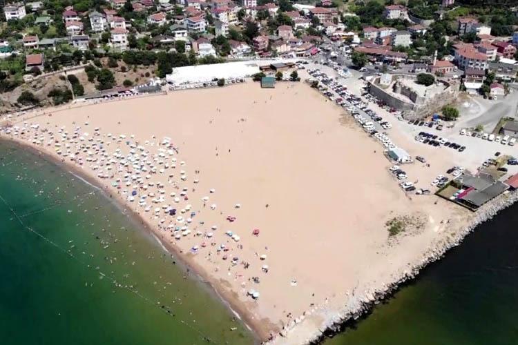 Beykoz'da denize girmek yarın da yasaklandı