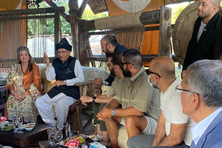 Pakistan Cumhurbaşkanı Alvi Beykoz'u ziyaret etti