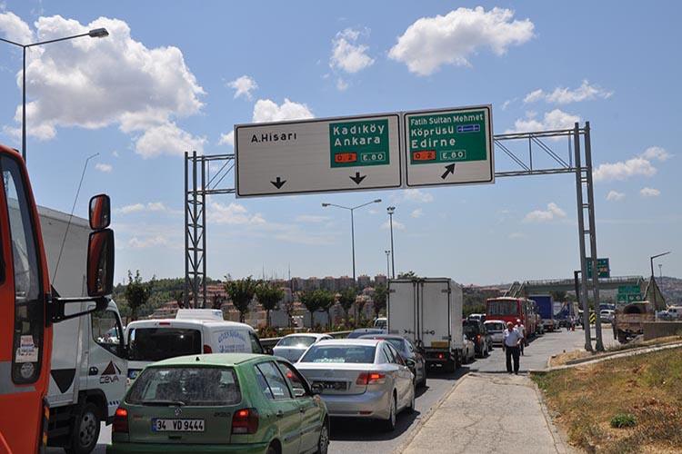 Beykoz'da trafik çilesi bu kez kolay bitmeyecek