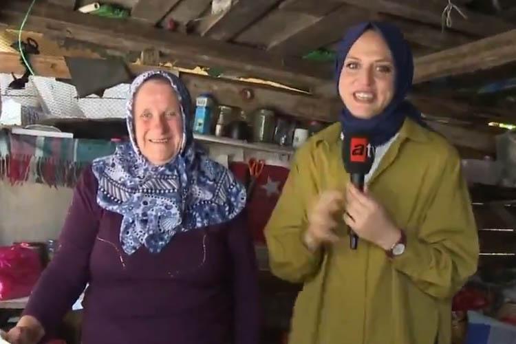 Beykozlu Emine Teyze ulusal medyada