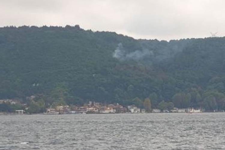 Beykoz'daki orman yangını kısa sürede söndürüldü