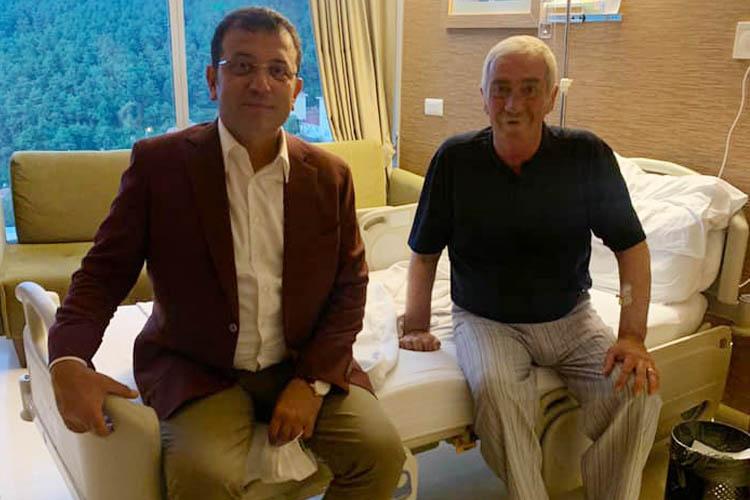 İBB Başkanı'ndan Beykoz'a hasta ziyareti