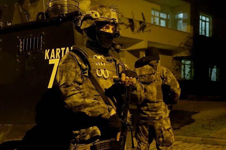 Beykoz'daki Gazino Villa'ya gece yarısı operasyon