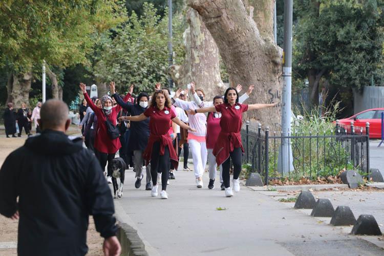 Beykoz'da hareket için bir cadde trafiğe kapandı