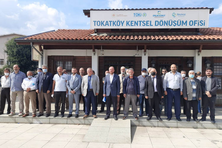 Beykoz'da kentsel dönüşüm için kimse imza atmadı