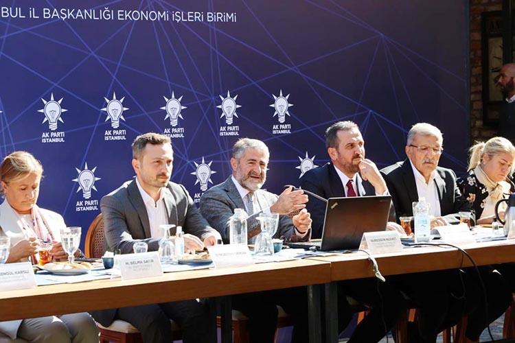 AK Parti Beykoz'da ekonomi buluşmaları yapıyor