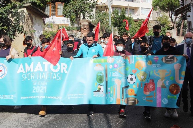 Beykoz'da Amatör Spor Haftası etkinlikleri