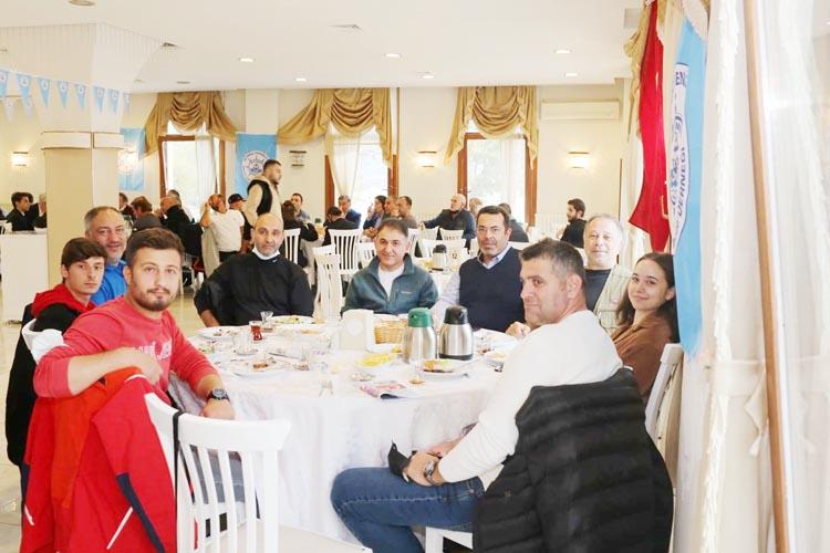 Beykoz'un denizcileri sabah kahvaltısında buluştu