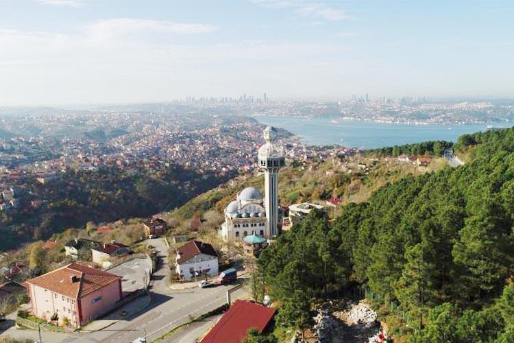 Beykoz'daki cami sayısı geçen yıla oranla arttı