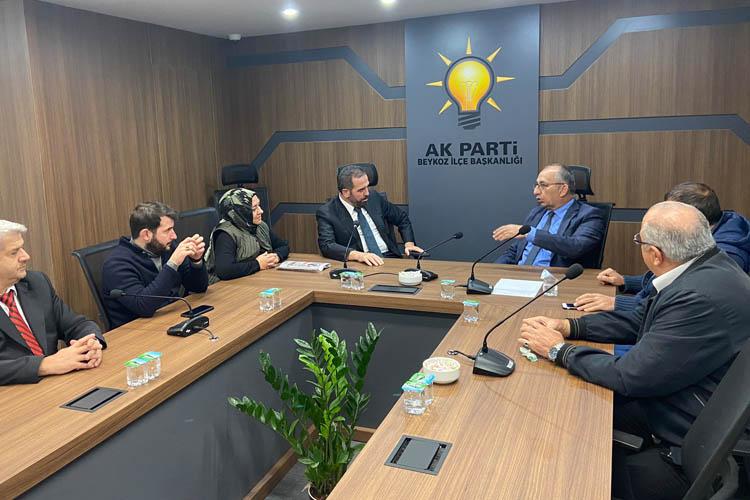 KAS-Der Genel Başkanı, Hanefi Dilmaç'ı ziyaret etti
